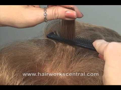 FREE HAIRDRESSING LESSON, How to tease hair