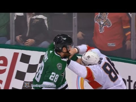 Jamie McGinn vs Stephen Johns Jan 23, 2018
