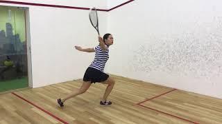 Squash in Moscow, урок #2. Игра от задней стены.