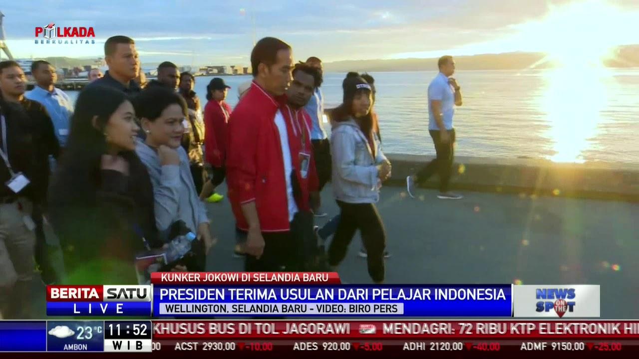 Selandia Baru Picture: Jokowi Temui Pelajar Indonesia Di Selandia Baru
