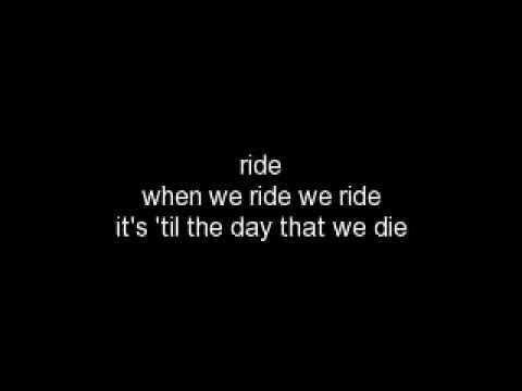 We Ride Rihanna w/ Lyrics