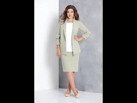 комплект: юбка, жакет, блузка Ольга Стиль, номер модели: С395ю