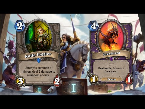 A million, bajillion, squillion, godzillion knife juggles using Dreadsteed