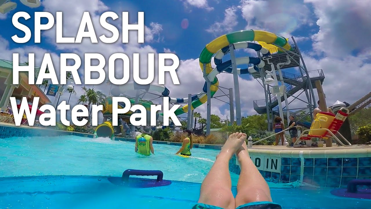 Play All Day At Splash Harbour Water Park