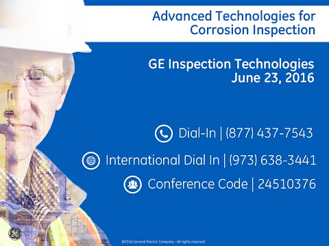 GE Advanced Corrosion Inspection Webinar 2016