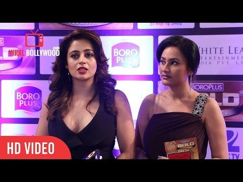 Neha Pendse and Sapna Sikarwar At Zee Gold Awards 2016 thumbnail