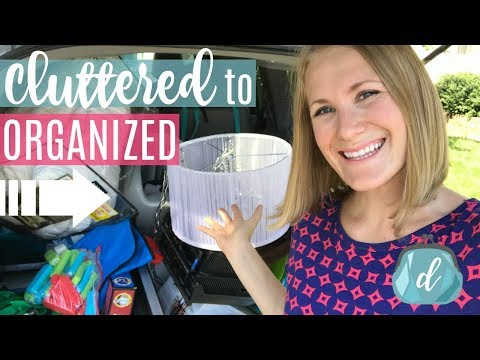 How to get rid of CLUTTER and get ORGANIZED now! 🙌❤️ + GIVEAWAY!