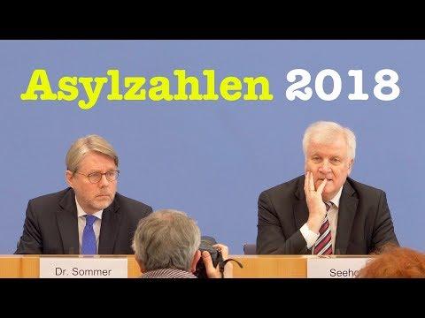 Asylzahlen 2018 mit Innenminister Seehofer & BAMF-Chef Sommer - BPK 23. Januar 2019