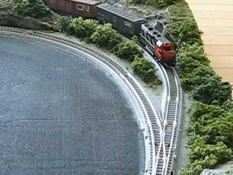 N scale train layout for small spaces youtube - Ho scale layouts for small spaces concept ...
