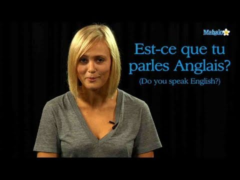 How to Ask If Someone Speaks English in French