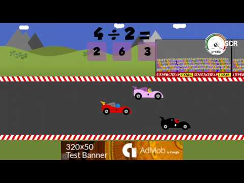 Math Car Racing Game For Kids Android Apps On Google Play