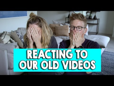 REACTING TO OUR FIRST COLLAB (ft TYLER OAKLEY) // Grace Helbig