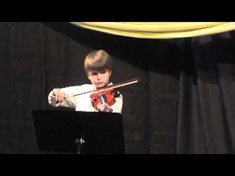 Jack's Violin Recital