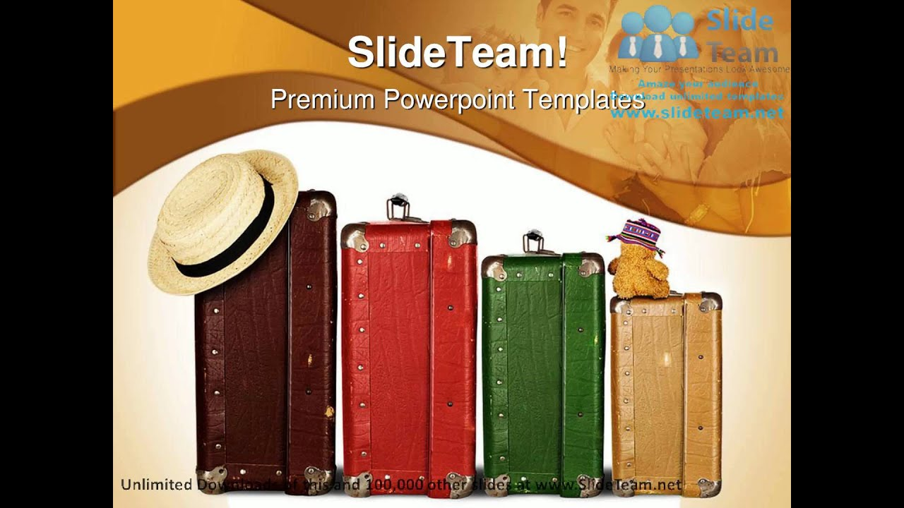 family on vacation travel powerpoint templates themes and backgrounds ppt themes youtube. Black Bedroom Furniture Sets. Home Design Ideas
