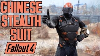 Fallout 4 Mods - CHINESE STEALTH SUIT - Full Showcase, Location, Upgrades - XB1 PC