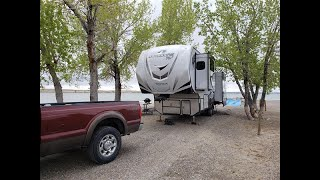 Unseasonably Cold RV Travel - late May in Wyoming