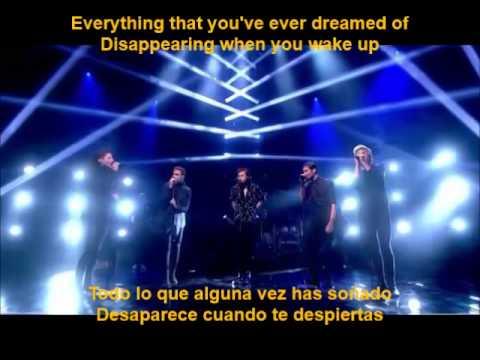 One Direction - Night Changes (Lyric English + Español)