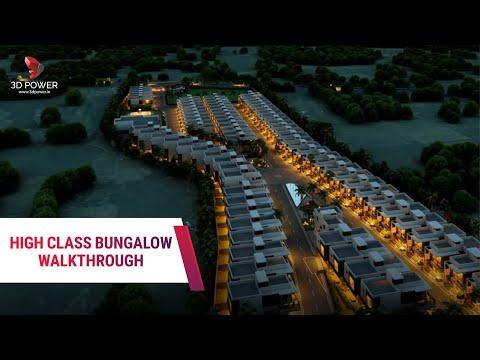 Best Of Row Houses Walkthrough Rendering