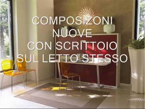 Letto A Scomparsa Con Scrivania Prezzi 360gradi Marche