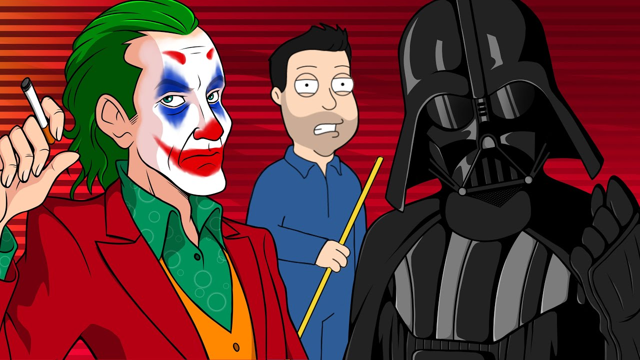 Joker and Darth Vader (Who Is The Best Villain?)