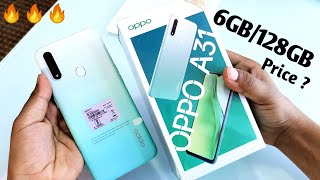 Oppo A31 6GB/128GB Unboxing & Review !! Oppo A31 Specifications, Price , First Look & More