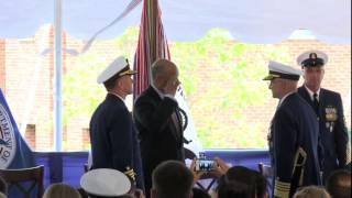 U S  Coast Guard Commandant Change of Command ceremony