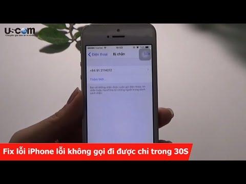 Fix lỗi iPhone lỗi không gọi đi được chỉ trong 30S
