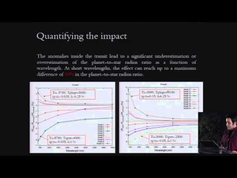 CoRoT3-KASC7 #49 - M. Oshagh - Effect of stellar activity on the high precision transit light curve