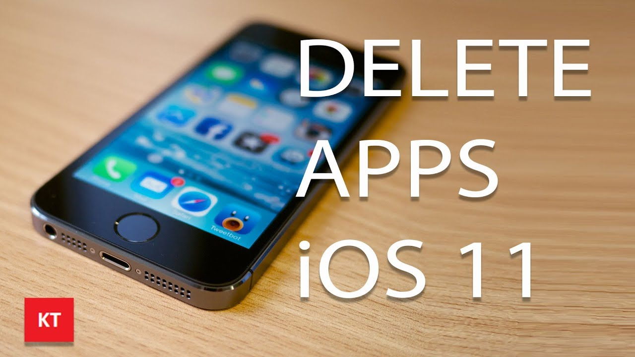 how to delete multiple apps on ios 11