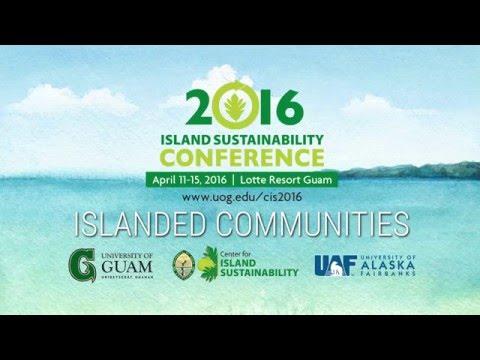 2016 Island Sustainability Conference