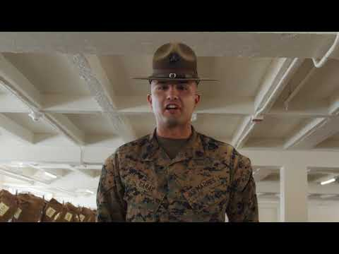 Golf Company Battalion Commander Inspection SAN DIEGO, CA, UNITED STATES 01.10.2020