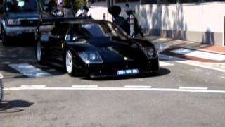 Black Ferrari F40 Lm In Monaco Youtube