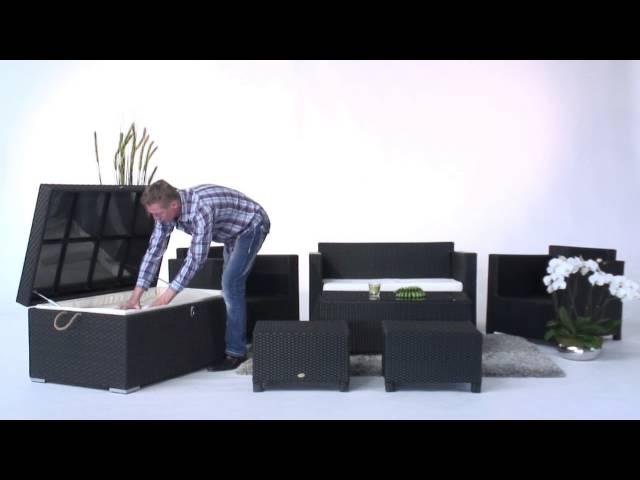 Rattan Garten Lounge - Gartenmöbel