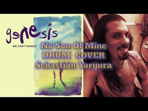 genesis no son of mine drum cover sebasti n yaryura. Black Bedroom Furniture Sets. Home Design Ideas