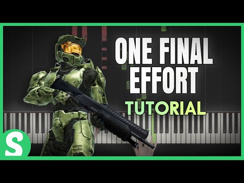 "How to Play ""ONE FINAL EFFORT"" from Halo 3 