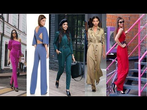 СТИЛЬНЫЕ  КОМБИНЕЗОНЫ и Для  Полных  На весну-лето 💜  РОСКОШНАЯ ЖЕНЩИНА Тренд модного сезона
