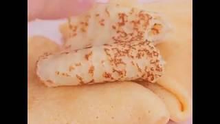 Рецепт блинов на кипятке