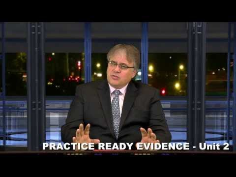 Practice Ready Evidence Article II