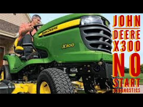 JOHN DEERE X300 / KAWASAKI FH SERIES / NO START / RUNS AND S / STUCK on