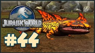 Jurassic World: The Game || THE SALAMANDER || Gameplay Walkthrough Part 44