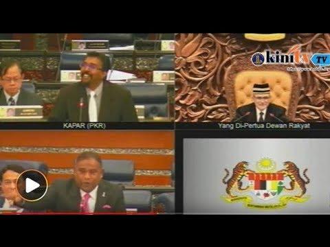 MP cakap bahasa Tamil gamatkan dewan