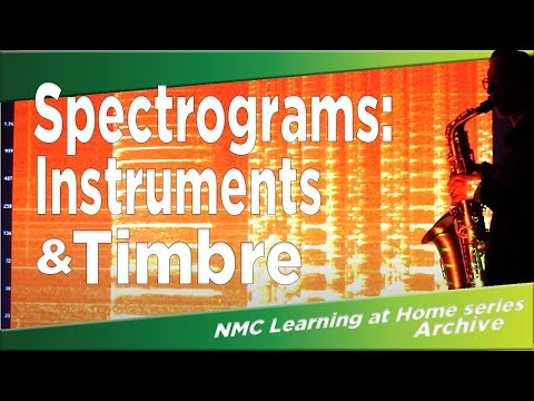 Spectrograms: Instruments and Timbre