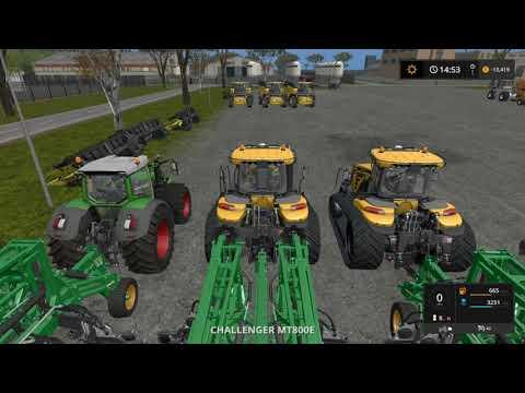 Farming simulator 17 Timelapse Australian x16 Map Broad acres Ep#17