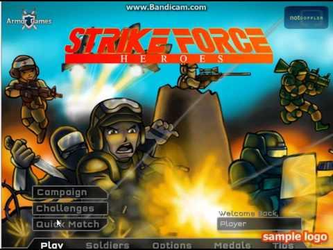 обзор игры герои ударного отряда (с читами)