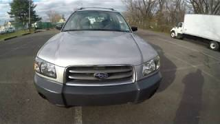 4K Review 2005 Subaru Forester 2.5 X Virtual Test-Drive & Walk-around