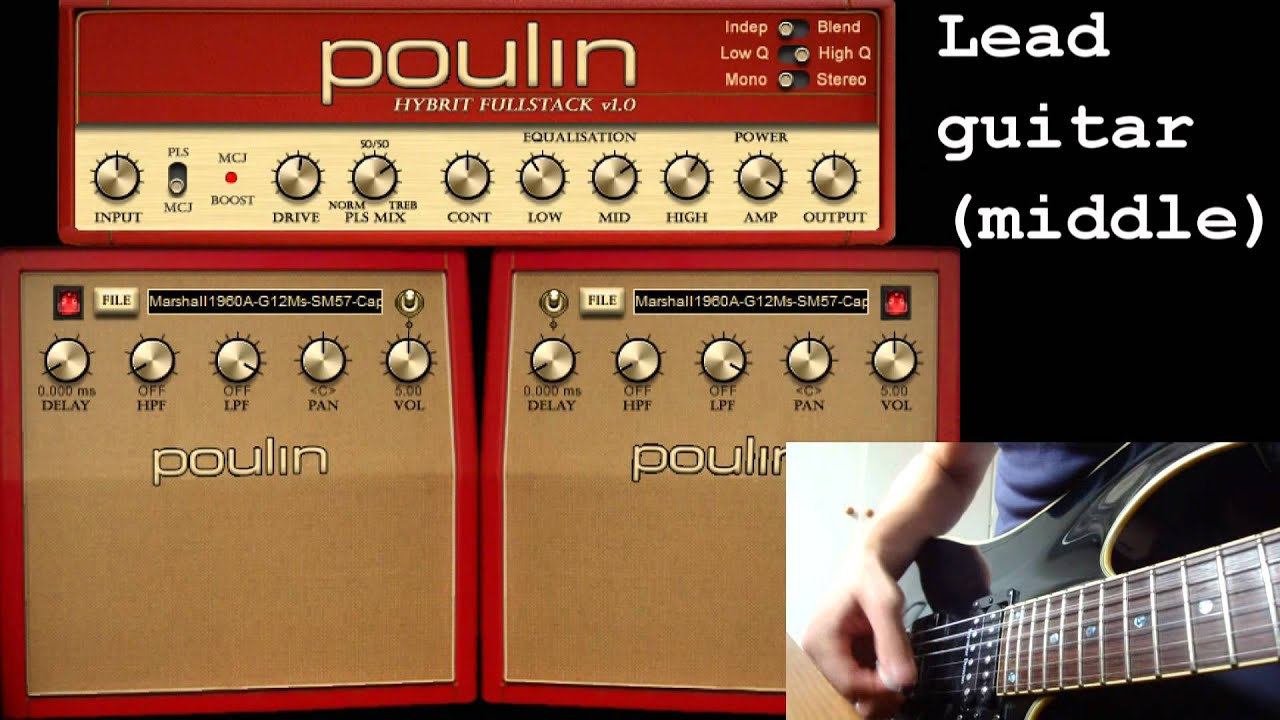 Poulin Hybrit vst plugin + Redwirez Impulse responses ( both free ! )