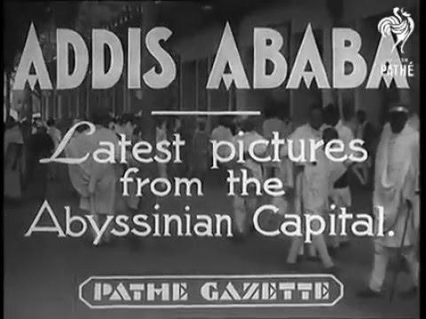 Addis Abeba, Ethiopia 1935