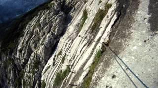 Zugspitze über Höllental und Klettersteig GoPro 2014