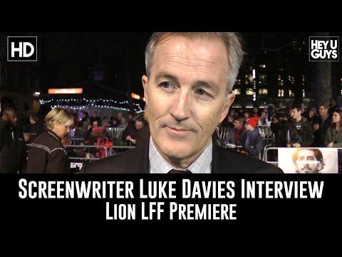 Screenwriter Luke Davies LFF Premiere Interview - Lion