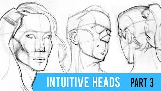 Intuitive Portrait Sketching with the Loomis Method - Part 3